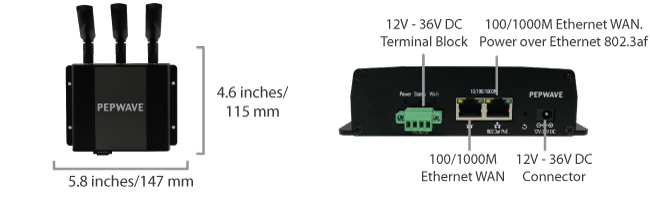 Device Connector - Indoor Rugged Specifications